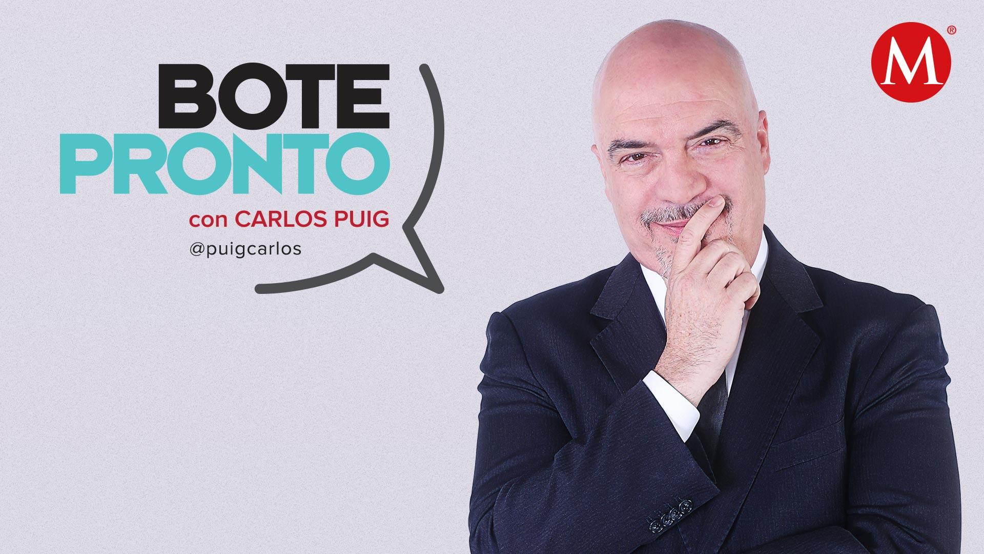 Bote Pronto, con Carlos Puig